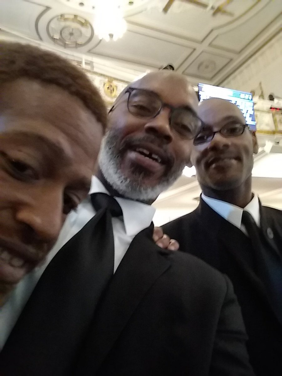 Church selfie with a couple of brothers from the men's choir today!#fc...