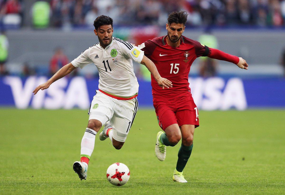 المكسيك يخطف تعادلاً قاتلاً من أمام البرتغال — كأس القارات