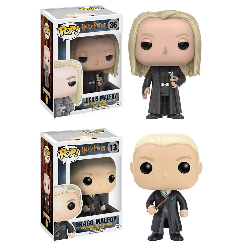 RT & follow @OriginalFunko for the chance to win a Lucius and Drac...