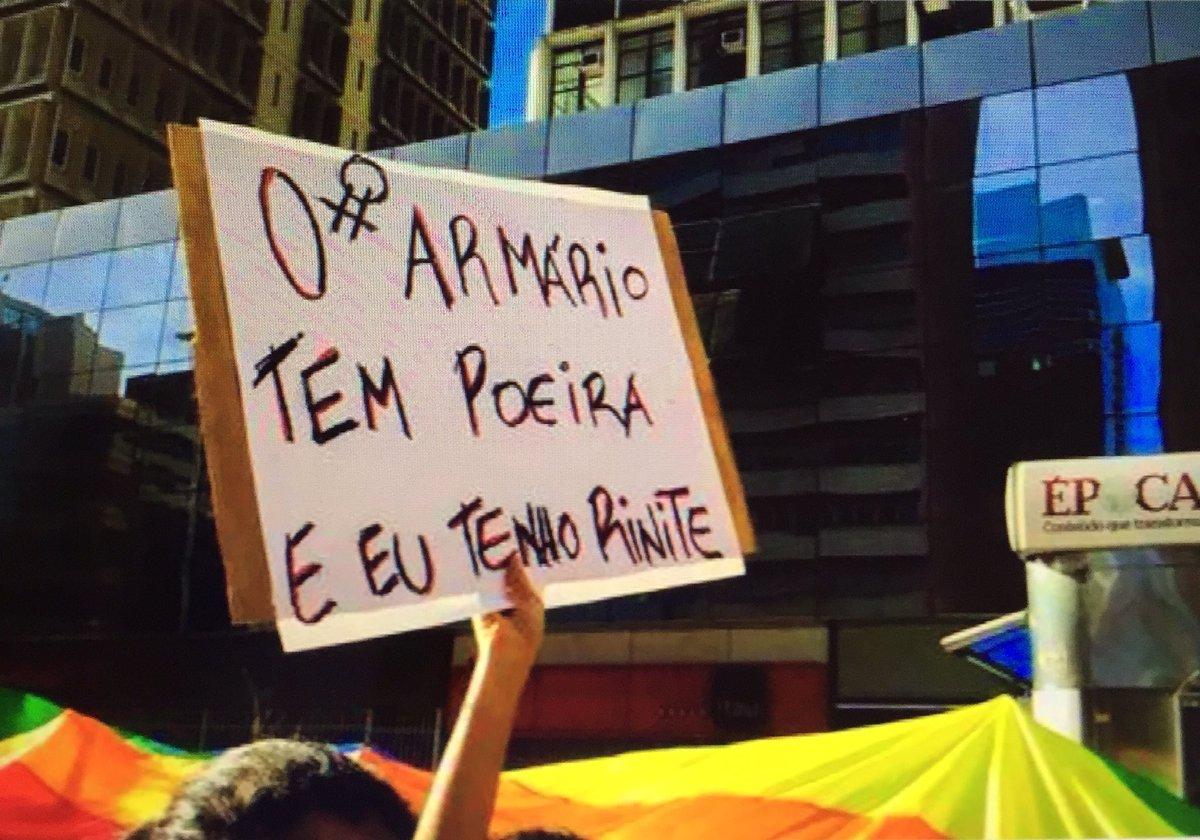 Cartaz da Parada Gay! via @kengally