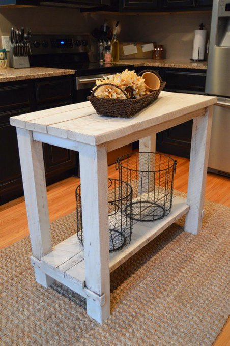 15 Easy DIY Kitchen Islands That You Can Build Yourself