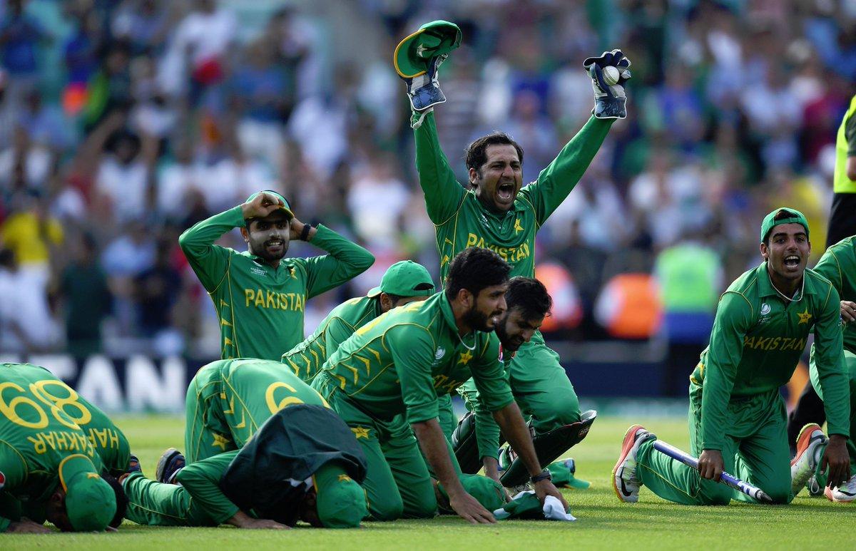 Shahid Afridi On Twitter Pakistans ICC Tournament Wins 1992 World Cup 2009 T20 2017 Champions Trophy INDvPAK CT17 CT17Final