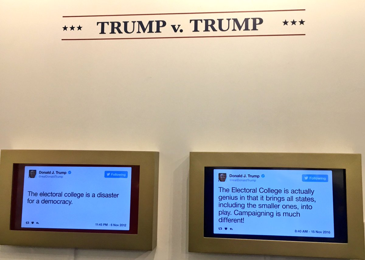 Trump vs Trump. #DailyShowLibrary
