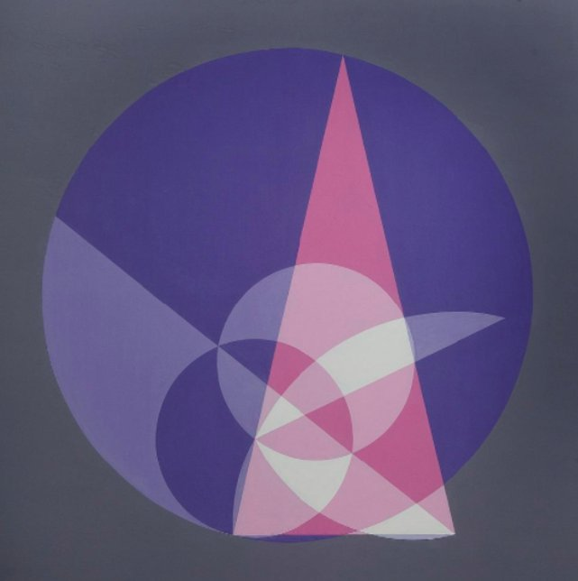Crockett Johnson, creator of Harold and the Purple Crayon, also made remarkable paintings of mathematical concepts. https://t.co/N4gan7eWAO