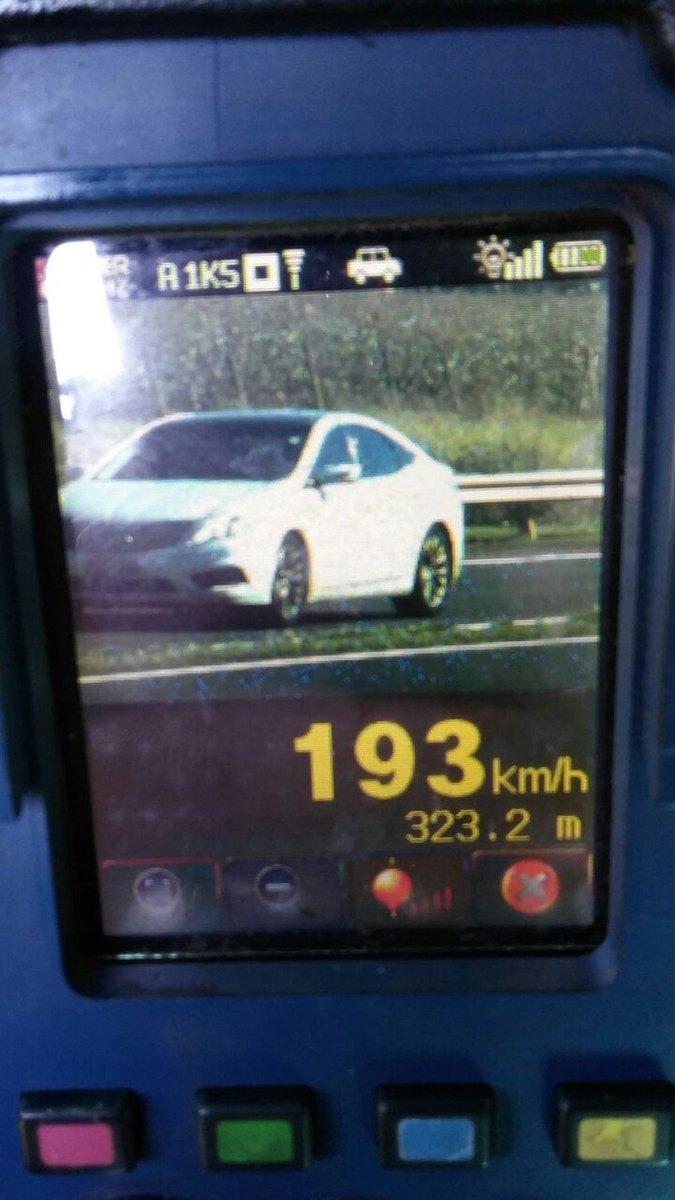 Veículo é flagrado a 193 km/h durante Operação Corpus Christi da Polícia Rodoviária Federal https://t.co/XUcSpzQpgk