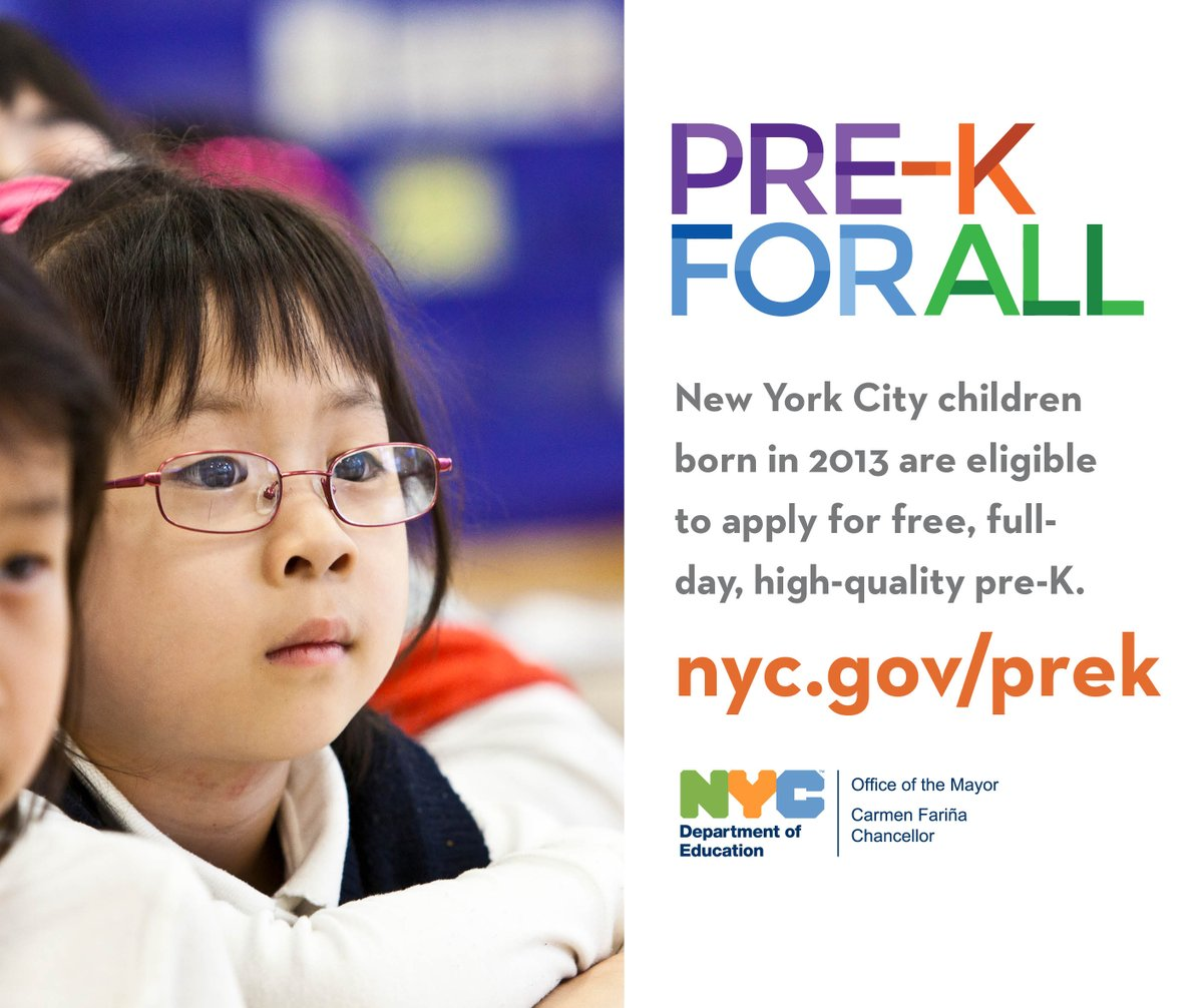 Nyc Public Schools On Twitter Round 2 Prekforall To Accept