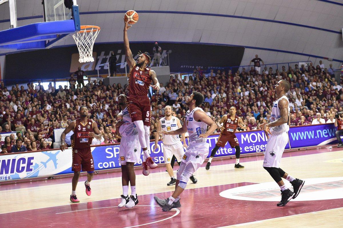 Finale Scudetto Basket: Venezia-Trento 65-63 (3-2), thriller al Taliercio con la tripla di Bramos a 7s dalla fine
