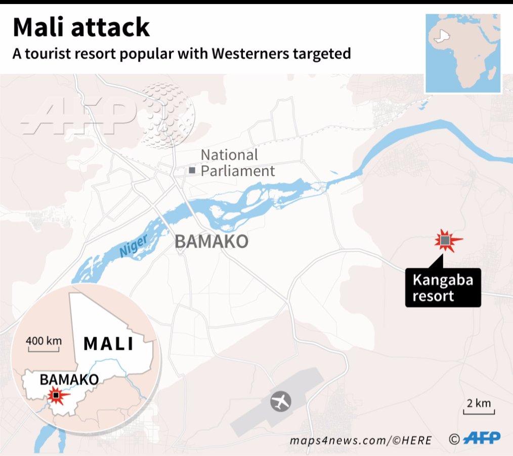 Mali. Attacco terroristico in un resort. I jihadisti gridavano