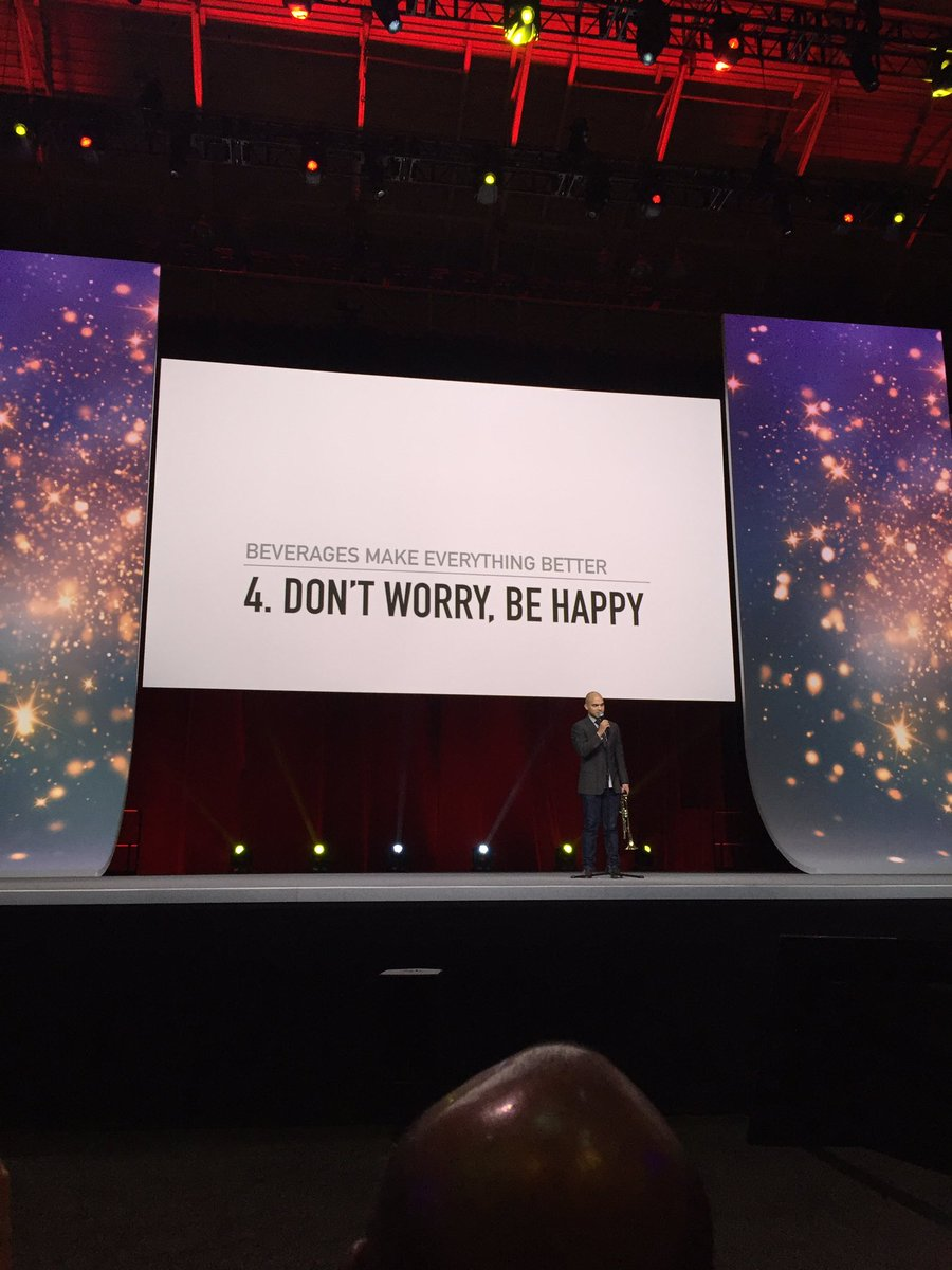 """""""A beverage will solve most, if not all, of your problems."""" #SHRM17 https://t.co/RxpS9ClozC"""