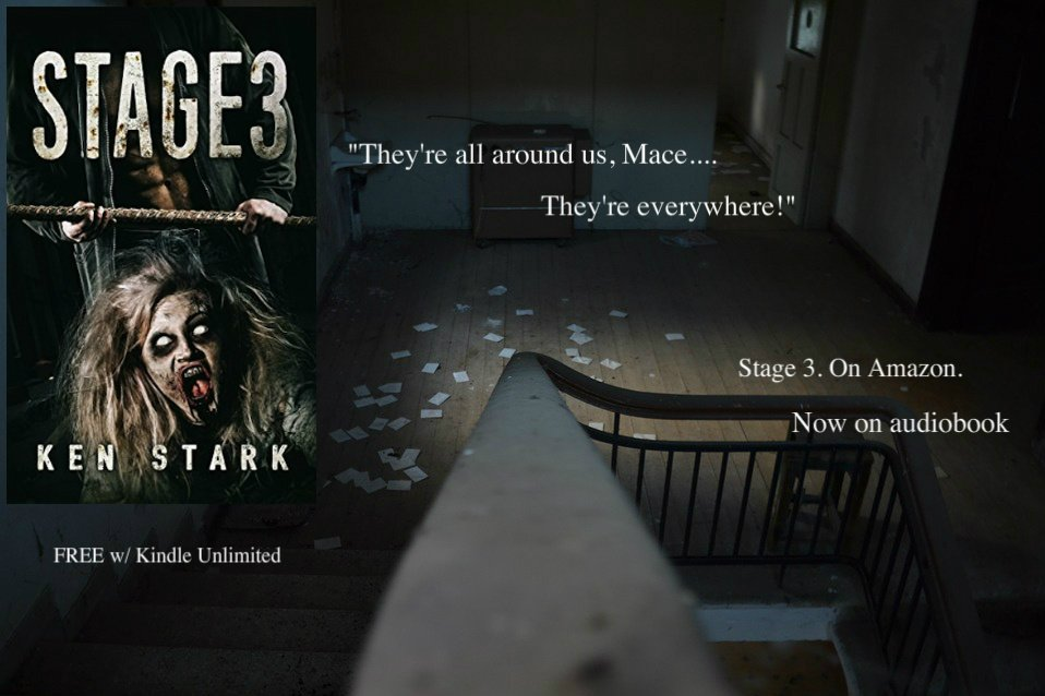 Sounds of a struggle echoed out of the darkness. Shouts, curses, then a shrill, frantic scream. #zombie #thriller  https://www. amazon.com/Stage-3-Post-A pocalyptic-Thriller-ebook/dp/B01CYITYOS &nbsp; … <br>http://pic.twitter.com/K0E1MFcrmu