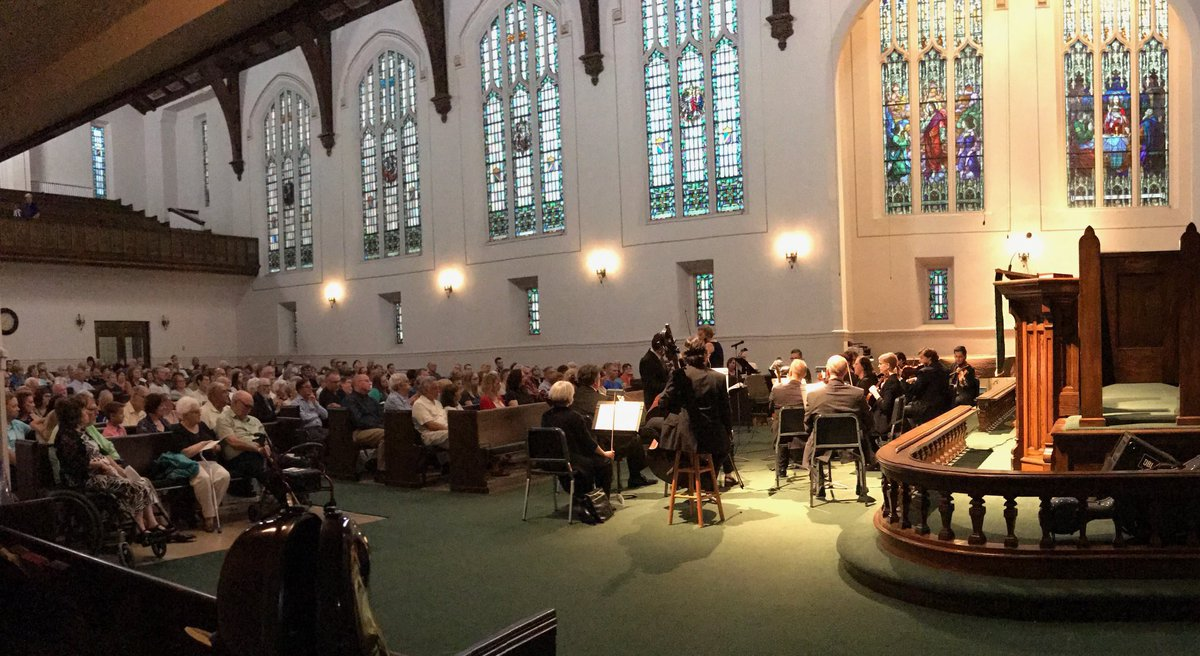 Thanks for joining us last night, #Danville—for 50 years of amazing #music in @CityDanvilleIL! #dso1967 #vivaldi #FourSeasons<br>http://pic.twitter.com/2An3ywXn3T &ndash; bij St James United Methodist Church