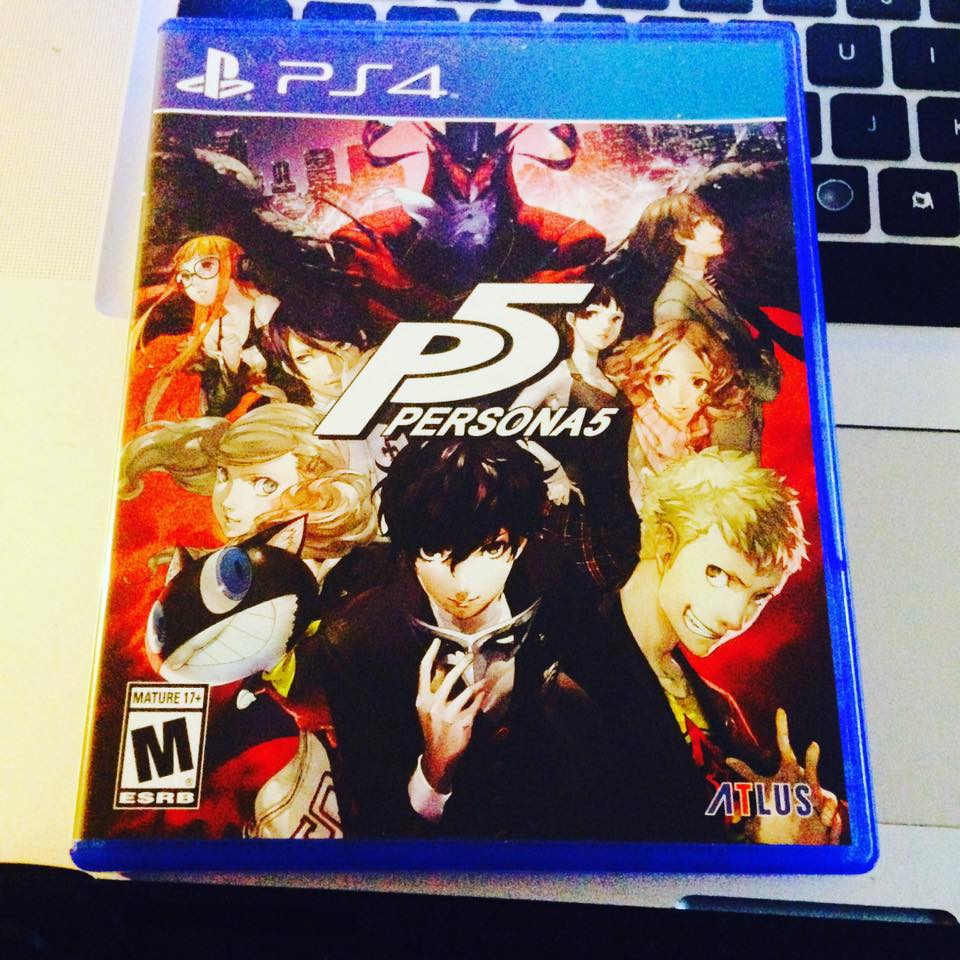 Wonderful Father&#39;s day present from my kids and wife :D #persona5 #atlus <br>http://pic.twitter.com/JqdYAg9xSC