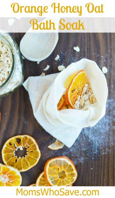 Orange Honey Oat Bath Soak