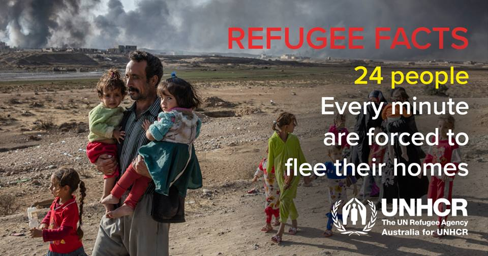 It is #RefugeeWeek. Remember: #refugees are NOT #migrants. They are forcibly displaced, fleeing persecution &amp; violence, seeking protection. <br>http://pic.twitter.com/6cw3kvOWkn