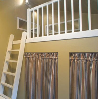 DIY Loft Guardrail
