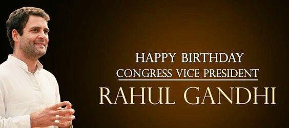 Odisha Congress wishes Party Vice President Shri Rahul Gandhi ji a very happy birthday.
