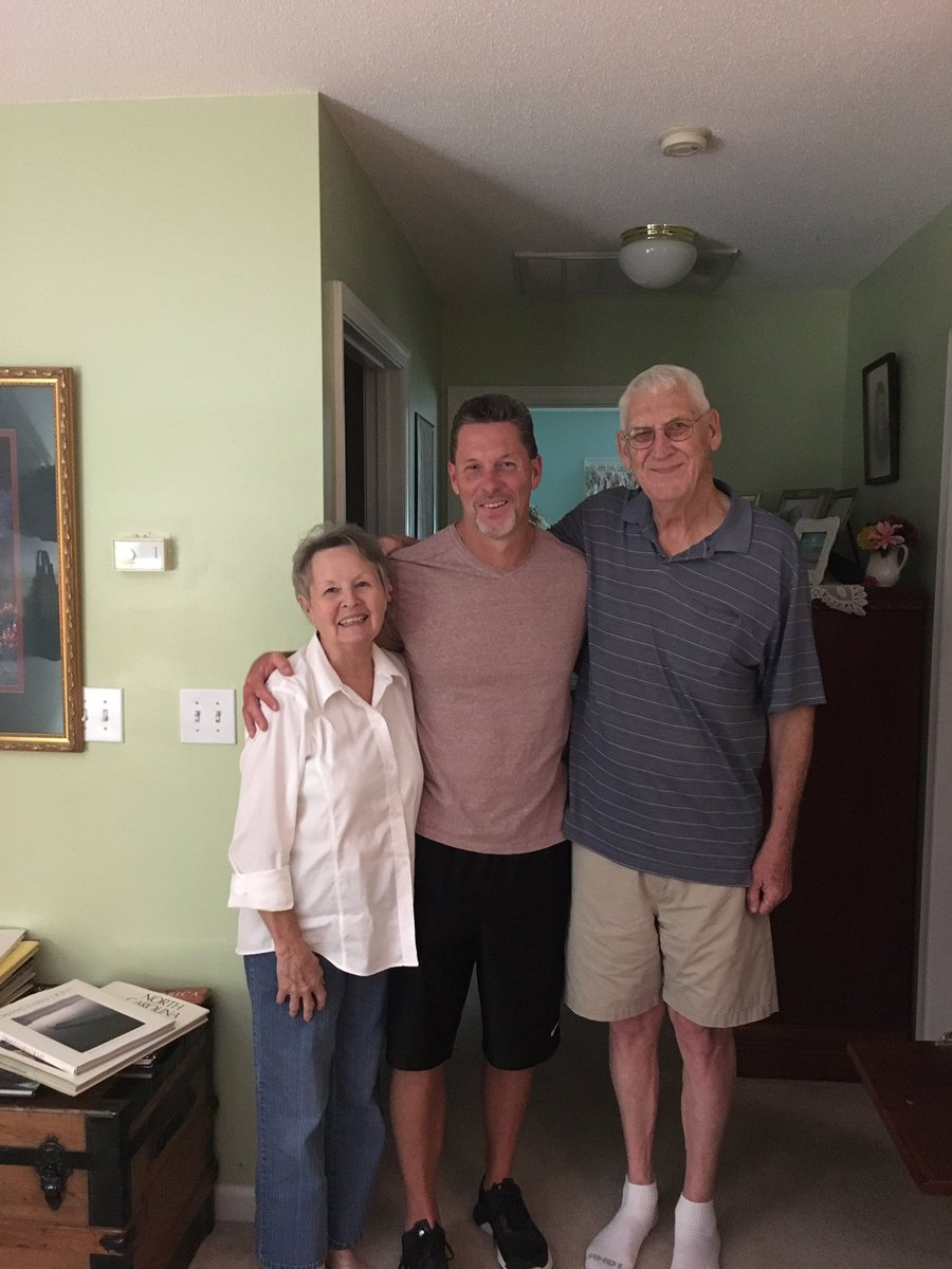 Wrapped up #FathersDay2017 with mom and DAD.