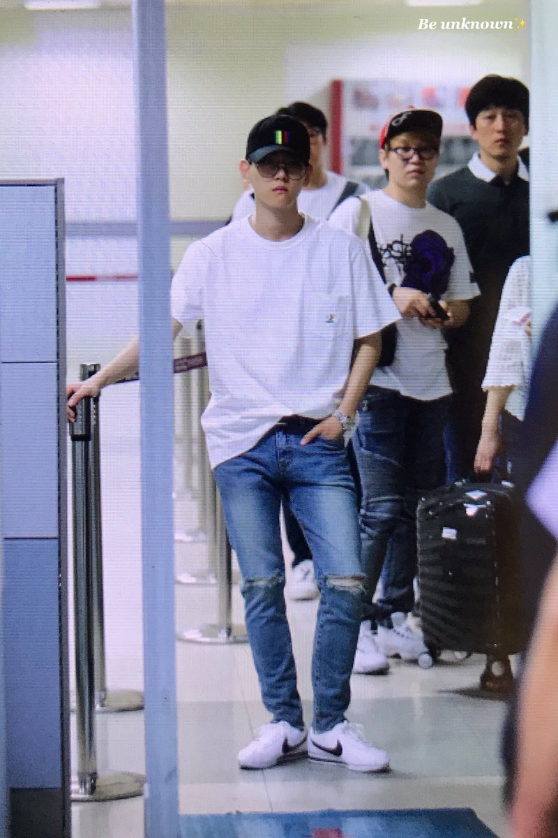 [PREVIEW] 170619 #Chanyeol #Baekhyun #ChanBaek @ GMP Airport  ©be unknown,blacklabel <br>http://pic.twitter.com/OjMr8DclaE