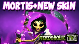 Unlocked Mortis and a NEW SKIN!! Live Gameplay