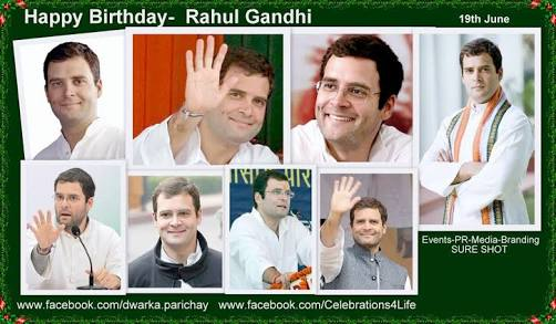 Happy birthday Rahul Gandhi...
