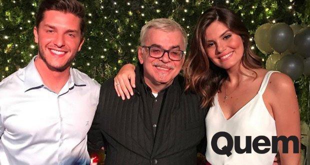 Casamento à vista: Klebber Toledo e Camila Queiroz estão noivos. Atriz usou anel de noivado em festa de aniversário. https://t.co/626x1iMya8
