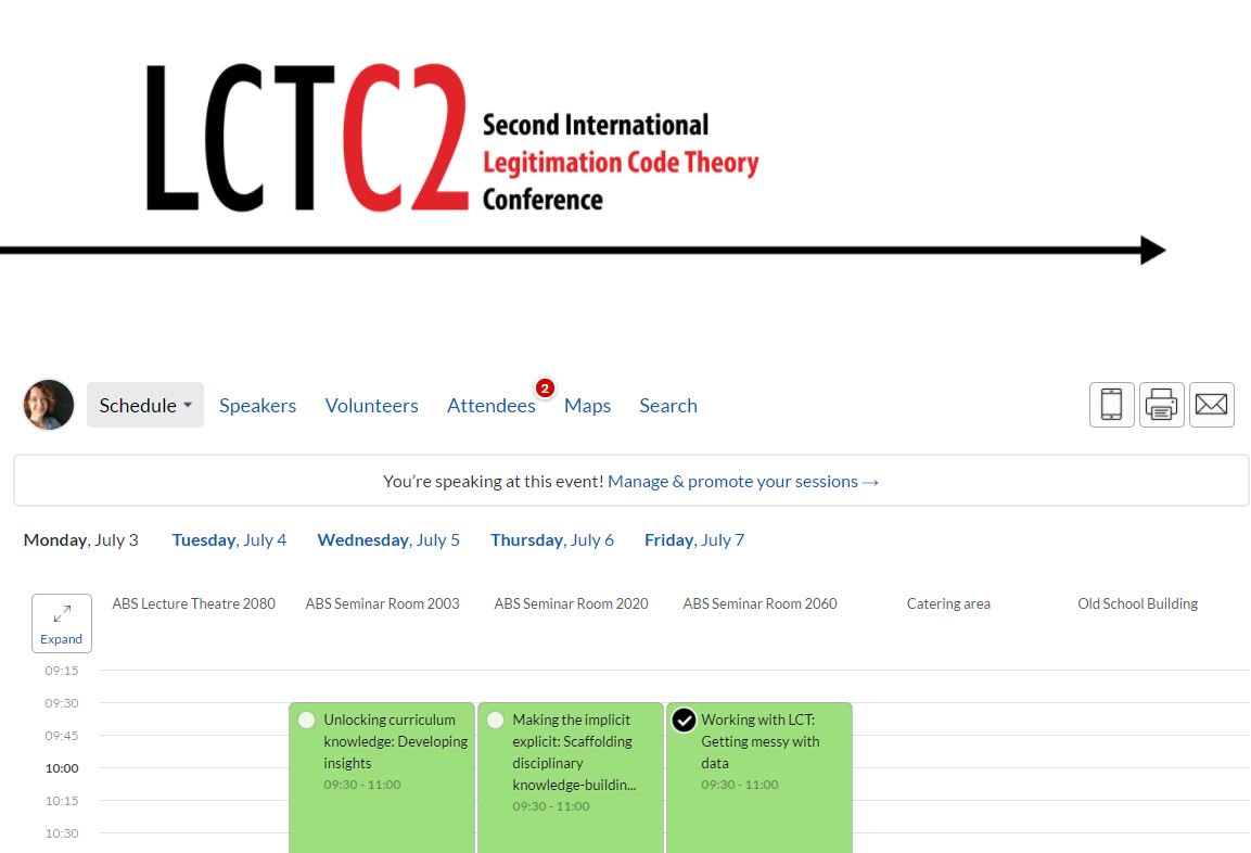 DID YOU KNOW: With the LCTC2 online app, you can browse the program and create your own schedule! Log on now & plan an awesome week! https://t.co/o6wpje2CG3