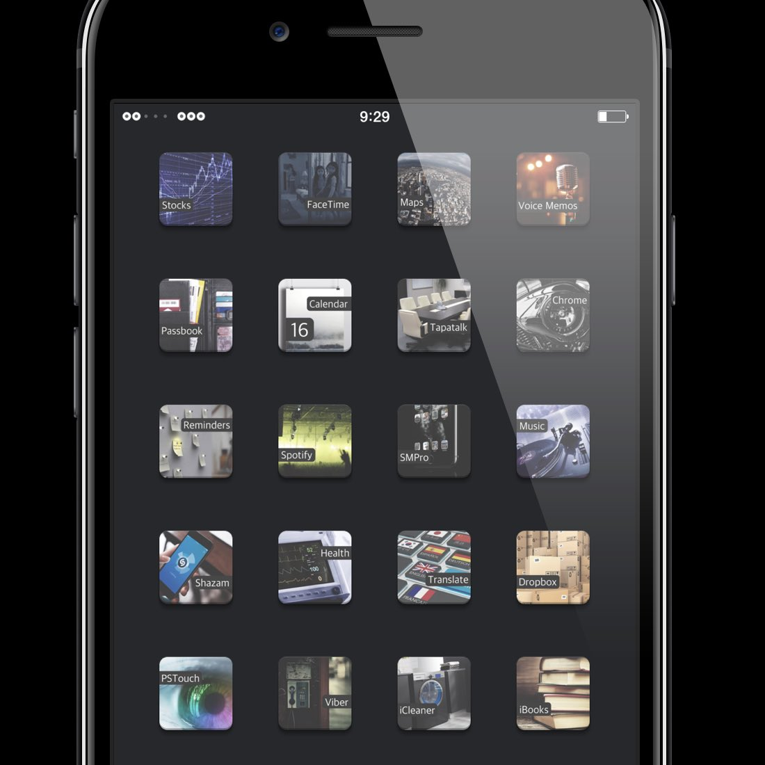 #Silence theme is available in the cydia, in the repository  http:// rko1195.com  &nbsp;   the icon request is open. Thanks, John! @RKO1195<br>http://pic.twitter.com/btFK1nCeAj
