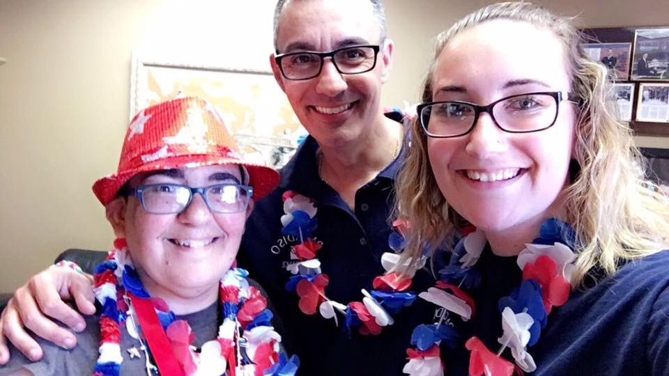 Awesome #FlagDay this year with @jordan_mckay14 and my sister Rachel #flagsfromparadisoins<br>http://pic.twitter.com/NtSAU7GRLU