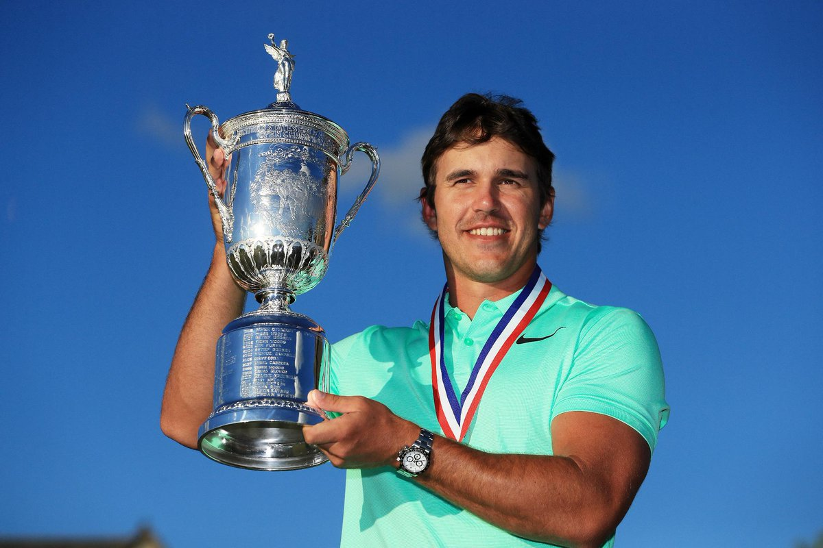 Brooks Koepka wins his first major ever at the U.S. Open.    [Credit:...