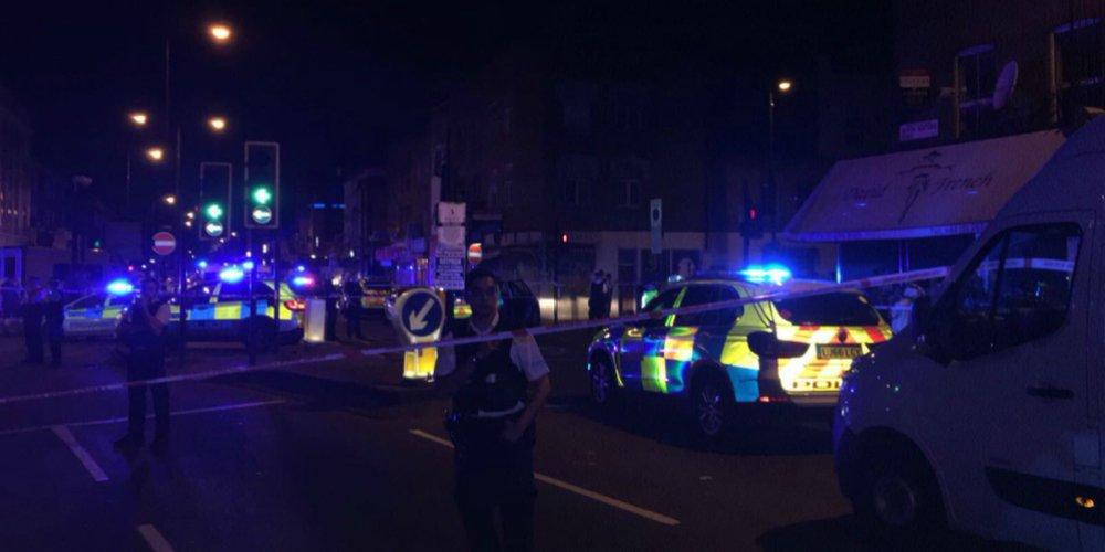 Terrorist attack in North London Finsbury Park - media to call it Van Attack