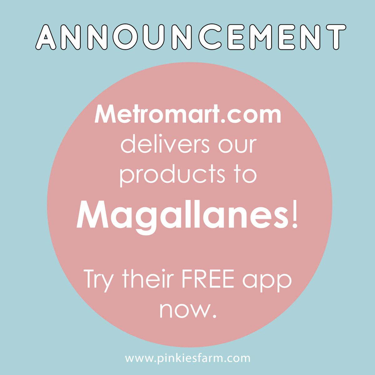Magallanes peeps! We&#39;re coming to you via  http:// metromart.com  &nbsp;  ! :) Order now. #metromartph #dairy #magallanes <br>http://pic.twitter.com/t2LVhF8mty