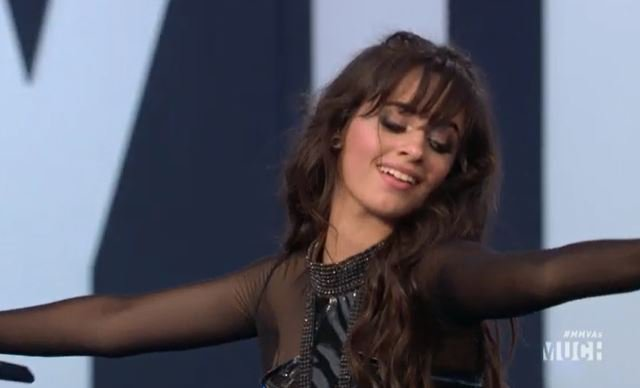 That's right, there ain't no crying in the club here. @Camila_Cabello slayed the @iHeartRadioCA @Much #MMVAs stage >>> #etalk #etalkMMVAs https://t.co/Mil32H9f55