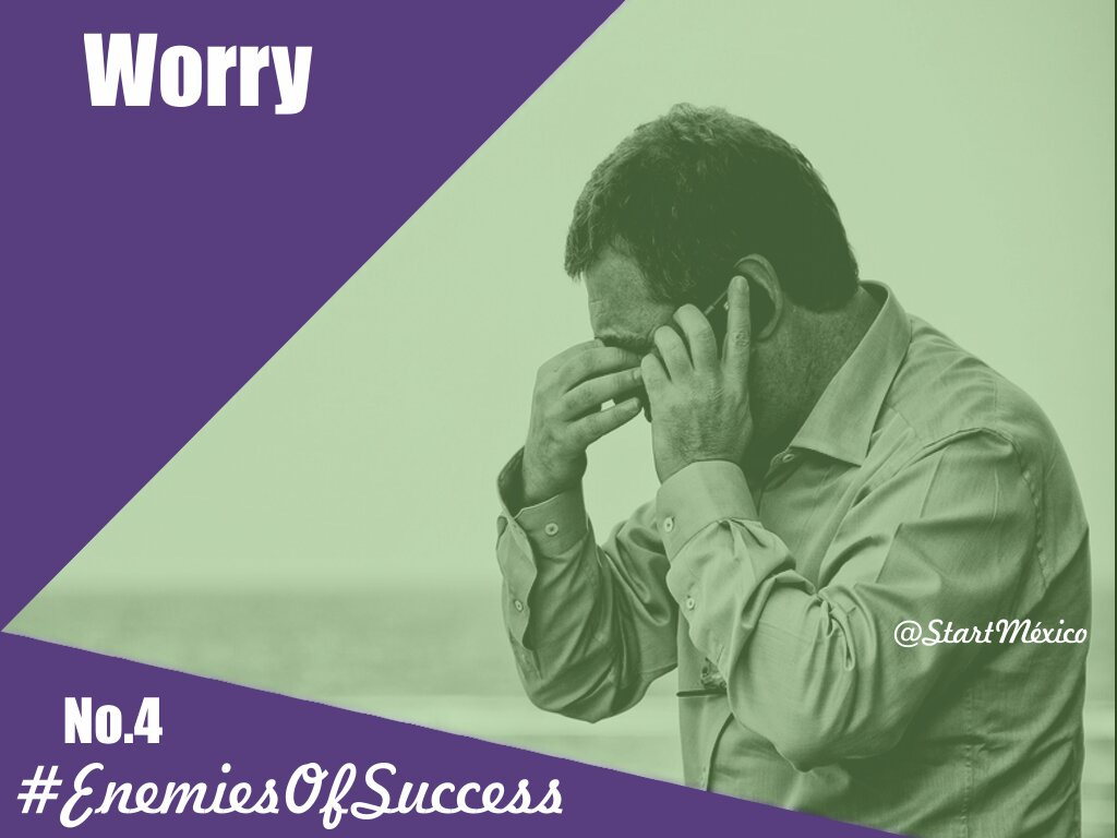 The fourth of the #EnemiesOfSuccess is stop in the face of adversity or in front of obstacles. #emprendimiento #startup #Negocios <br>http://pic.twitter.com/csdPosnZYm