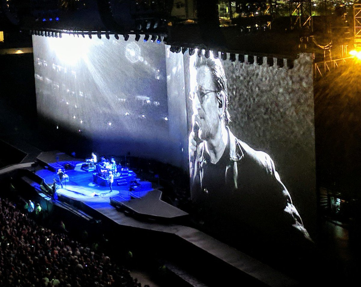 Photo from u2thejoshuatree2017 on twitter by jcasap