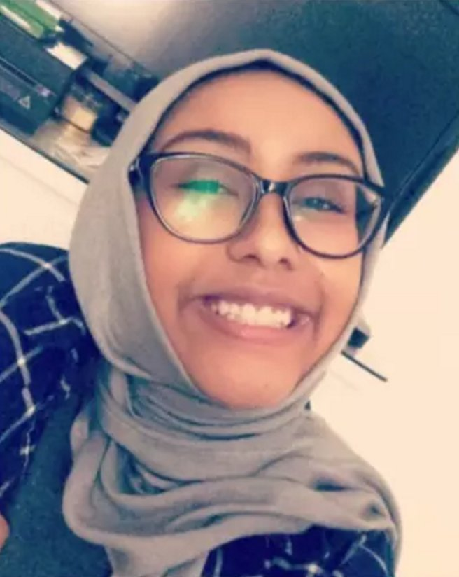 SHE HAS A NAME: a 17 year old Muslim girl named, Nabra, was kidnapped and murdered after leaving her mosque on Sunday morning.