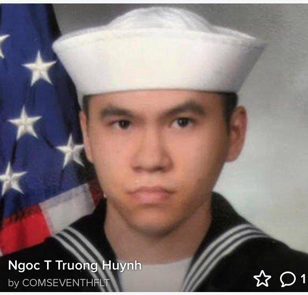 Sonar Technician 3rd Class Ngoc T Truong Huynh, 25, of Oakville, Conn. https://t.co/tHToyYRTtT