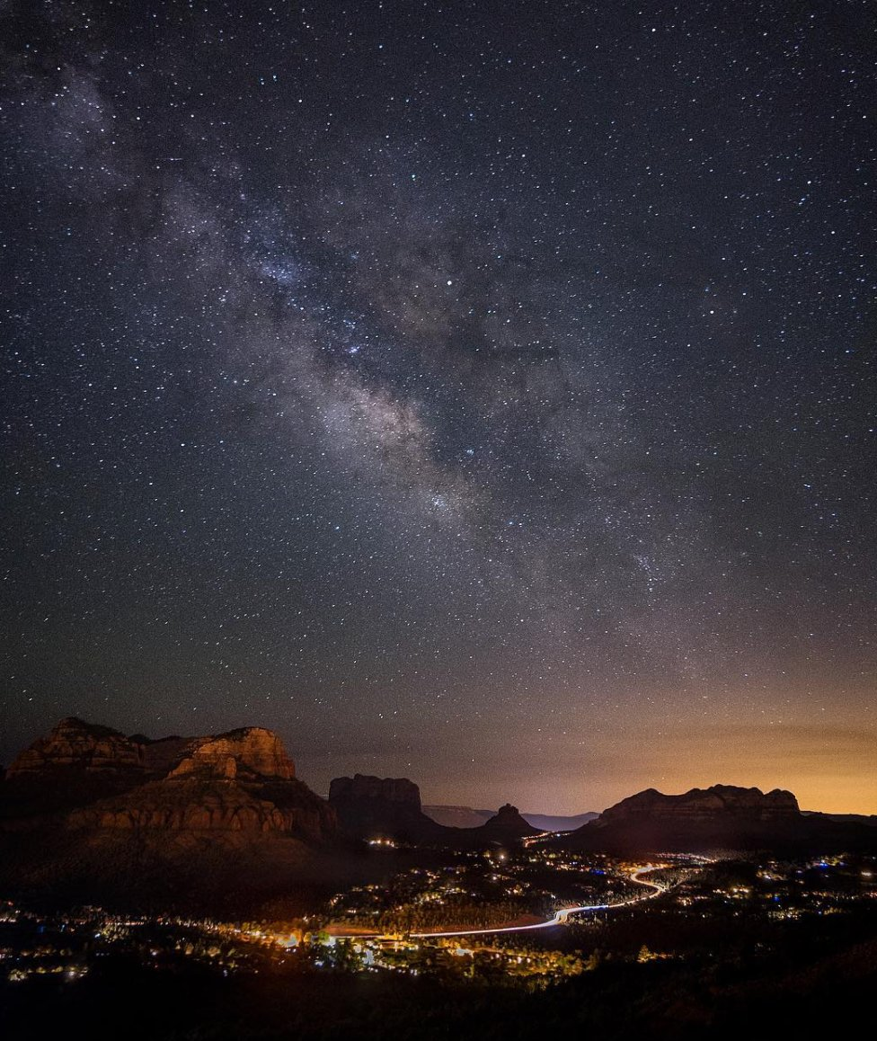 Goodnight, Arizona! Thanks Matt Wilczek Photography for sharing this amazing shot from Sedona. #abc15