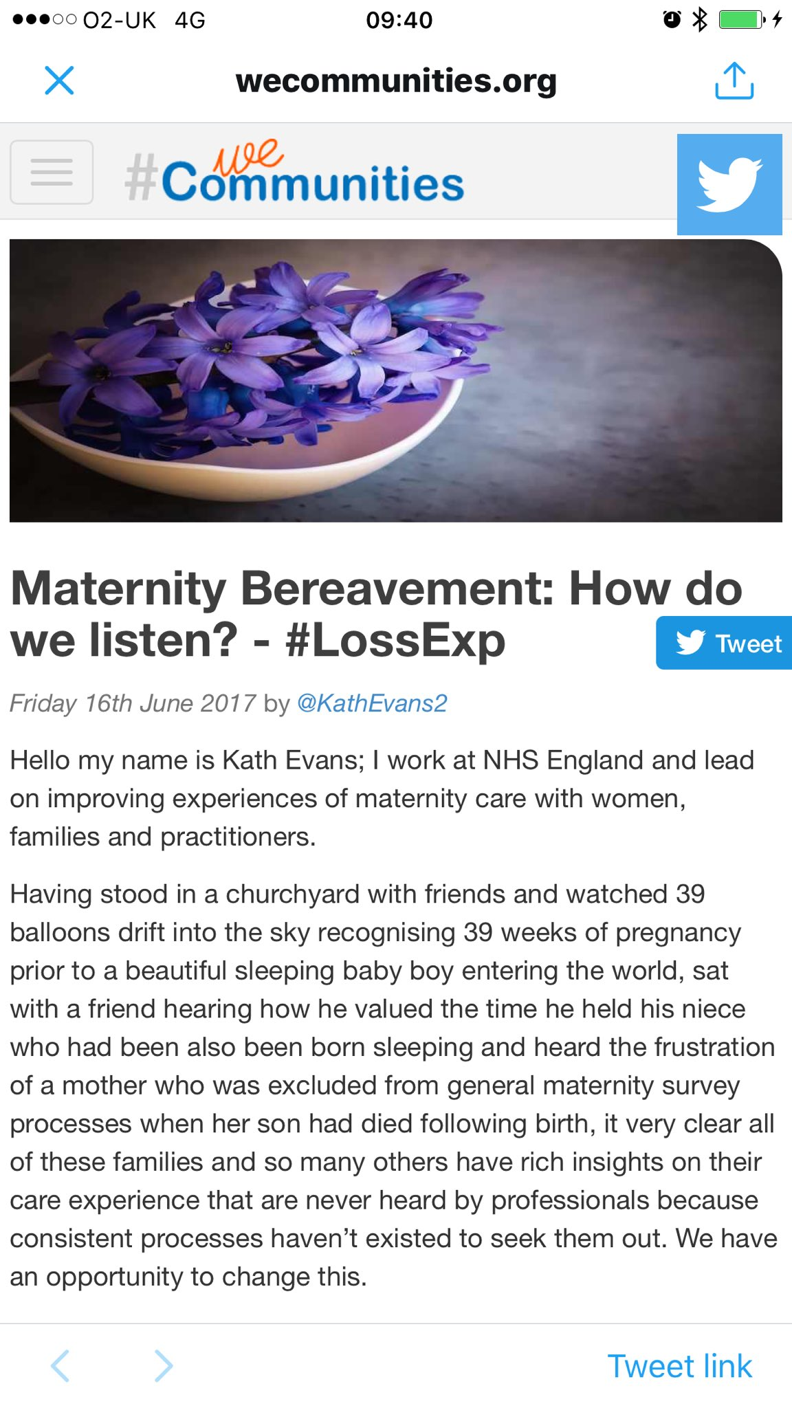 Are you checking in to #LossExp this week? Details here https://t.co/MT233Az829 from @KathEvans2 do find the time to check in and share :) https://t.co/p56KAgPkL8