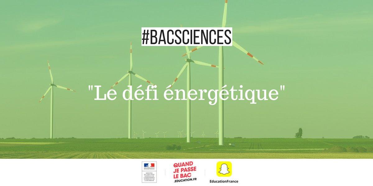 Retrouvez tous les sujets du #BacScience...