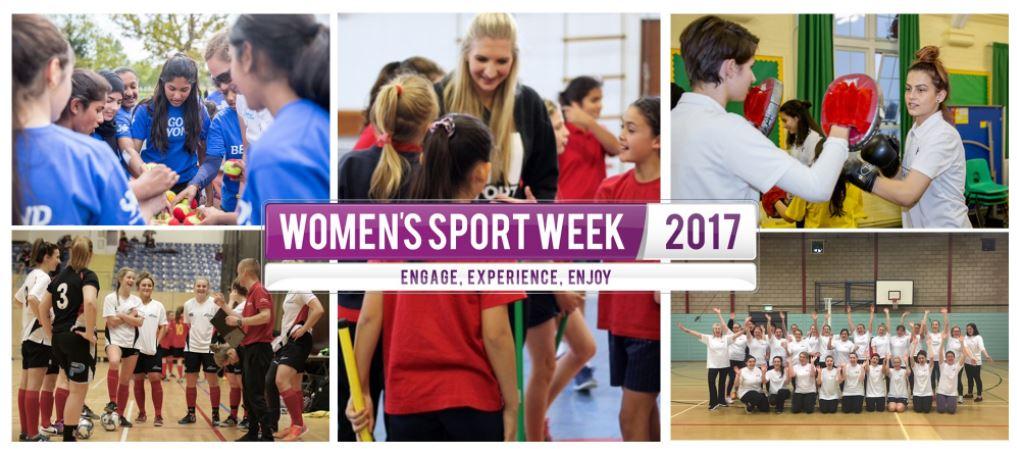 It's Women's Sport Week.  Retweet to cel...