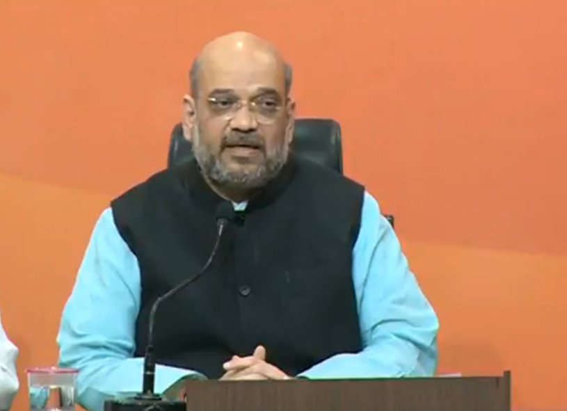 Bihar Governor Shri Ramnath Kovind will be the NDA candidate for the president election : Shri @AmitShah