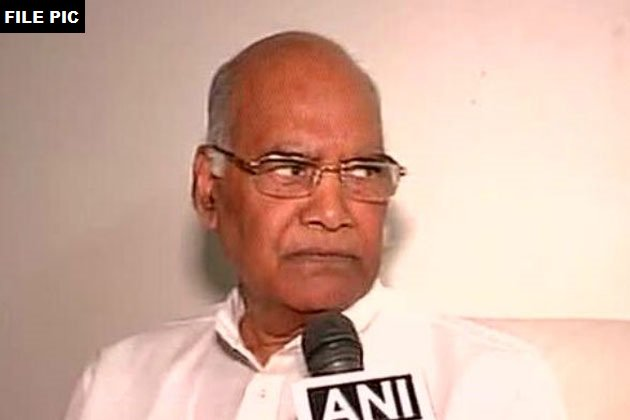 Bihar Governor Ramnath Kovind has been declared as NDA's candidate for president.