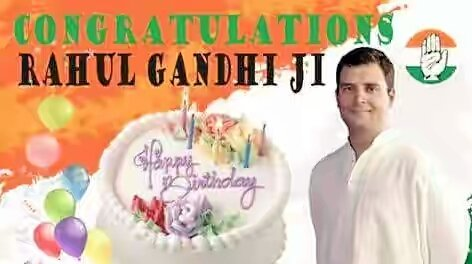Happy Birthday Shri Rahul Gandhi Ji