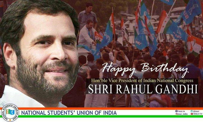 Rahul gandhi ji ko janmdin ki hardik badhai  Happy birthday sir