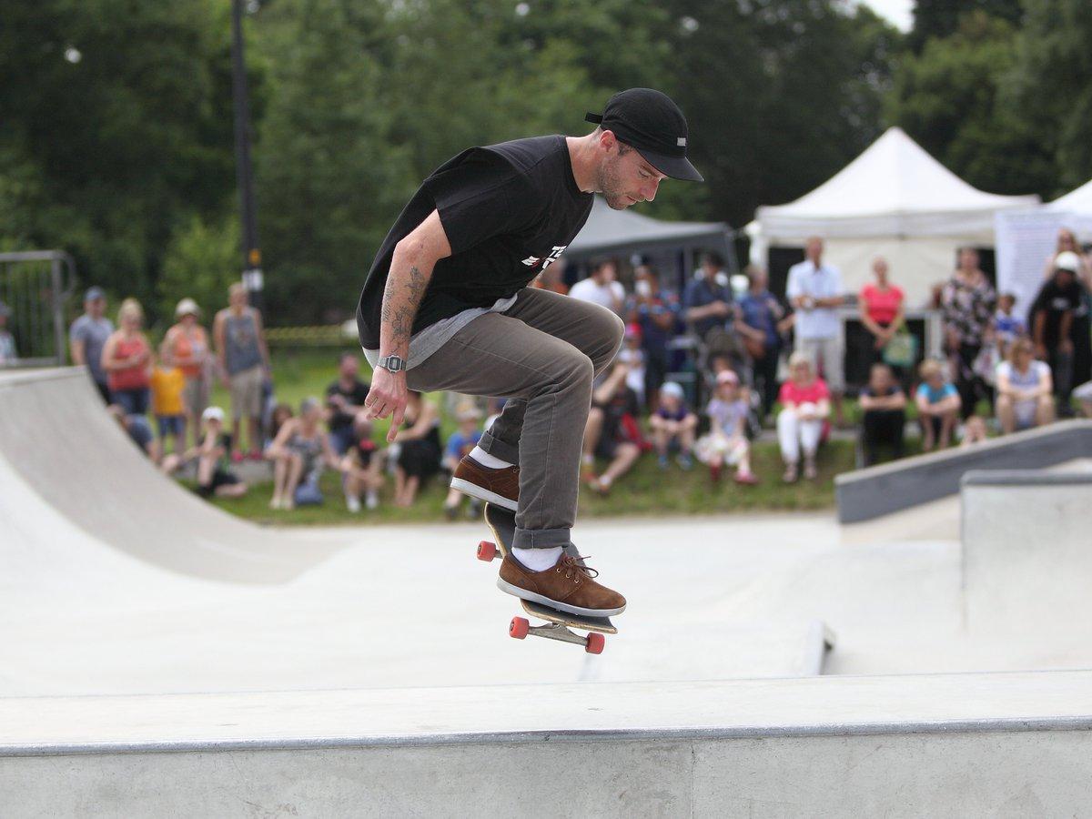 Dave Monaghan at Marple Skatepark