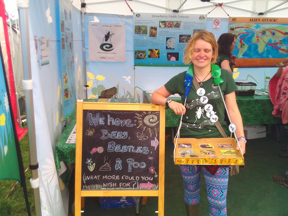 #HearAllAboutIt! @thatali_ecol of @LancsUniLEC is talking #festivalbugs @GlastoFest with @BBCLancashire in 25mins! @bbcglasto<br>http://pic.twitter.com/Fa0OMpzEul