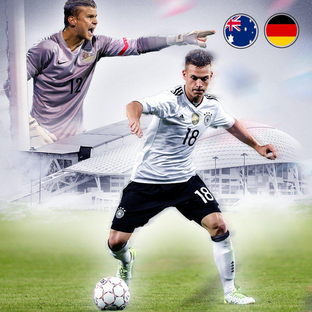 Für Joshua #Kimmich und das @DFB_Team steht heute das erste #ConfedCup...