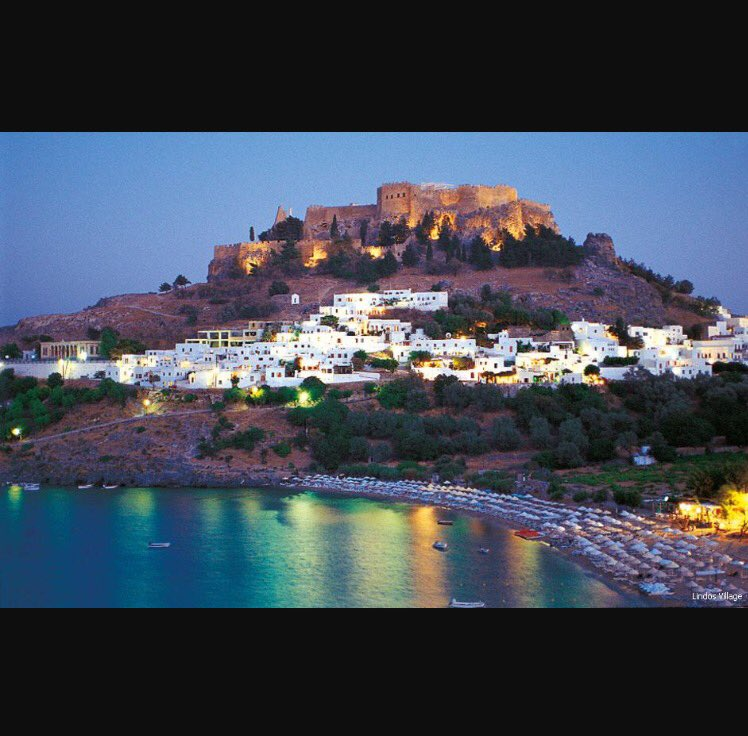 Just booked this little beautiful little town for 10 nights! 1 month today! #lindos #rhodes #greece #Summer2017<br>http://pic.twitter.com/acgCK5fczl