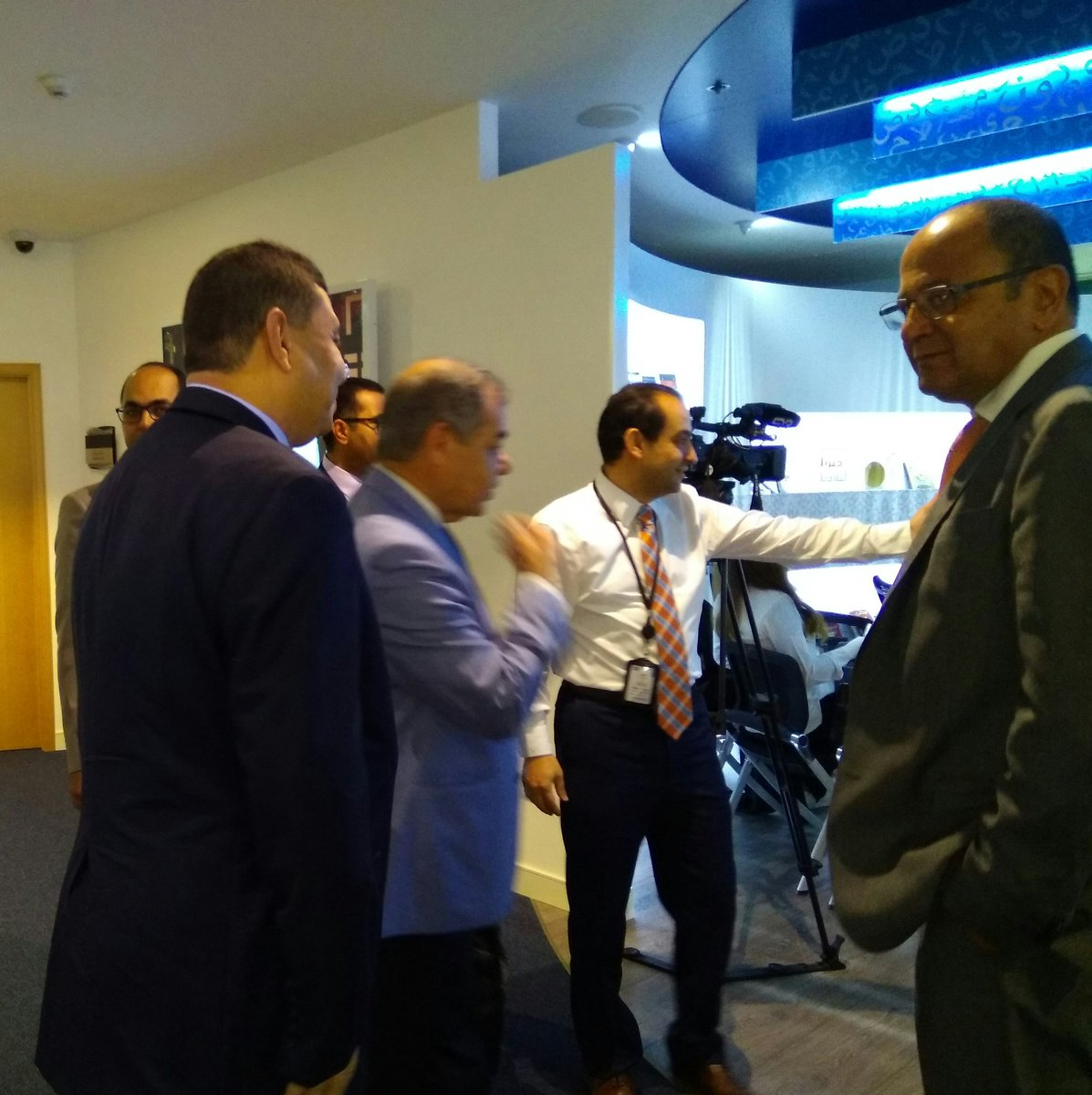 #Arab #knowledge project experts with @UNDPArabStates hub director @KhaledAbdelSha1 prior to the #press #conference  #KnowledgeIndex #UNDP <br>http://pic.twitter.com/3w93X4z9Rg