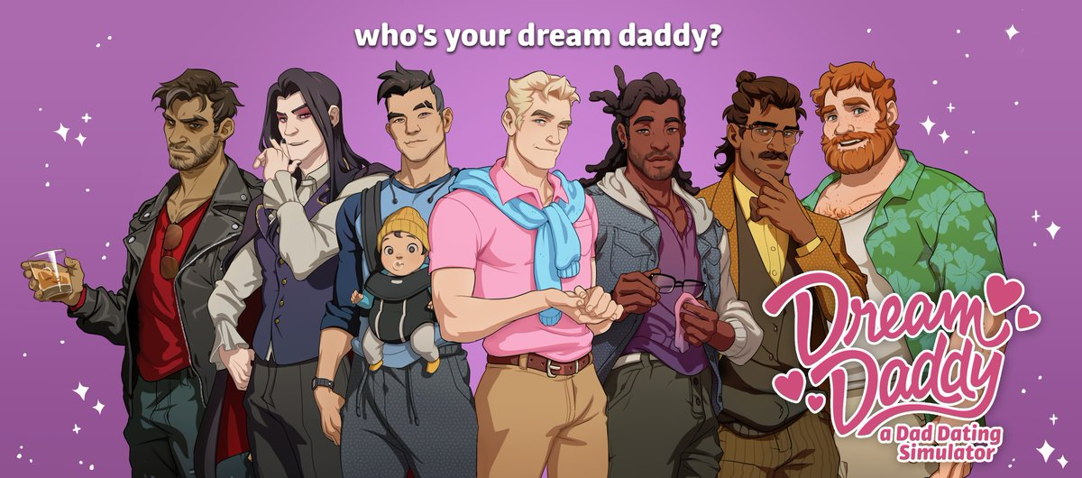 Dream Daddy: A Dad Hookup Simulator Games